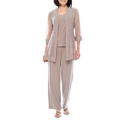 R & M Richards 3/4 Sleeve 2-pc. Pant Set