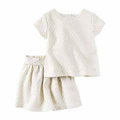 Carter's Skirt Set Preschool Girls
