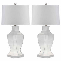 Safavieh Glass Bottom Lamp