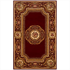 Momeni® Atlantis Hand-Carved Wool Rectangular Rug