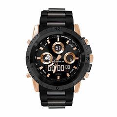 Rocawear Mens Black Strap Watch-Rm0216rg1-264