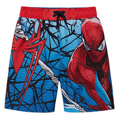 Boys Marvel Swim Trunks-Preschool