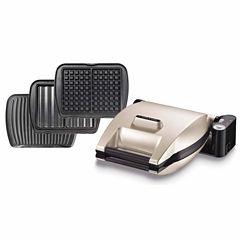LaGrange® Premium Waffle-maker  + Grill/Panini + Grilled sandwiches