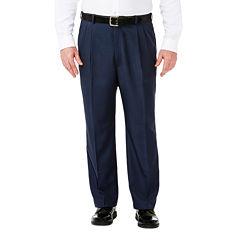 Haggar® Cool 18® No-Iron Pleated Pants – Big & Tall