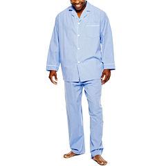 Stafford® Broadcloth Pajama Set - Big & Tall