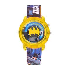 Batman Boys Multicolor Strap Watch-Bat4620jc