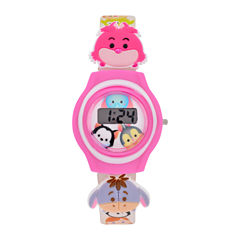 Disney Tsum Tsum Girls Multicolor Strap Watch-Tsu3006jc