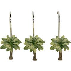 Bacova Citrus Palm Shower Curtain Hooks