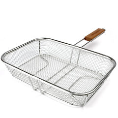 Charcoal Companion Stainless Steel Mesh Grilling Basket