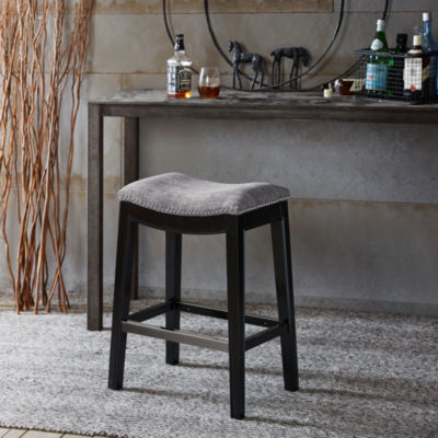 madison park saddle counter stool