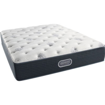 simmons beautyrest silver snowhaven plush mattress only - Twin Mattress For Sale