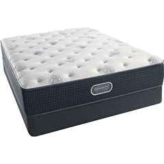 Simmons Beautyrest Silver® Snowhaven Luxury Firm - Mattress + Box Spring