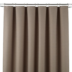 JCPenney Home™ Parker Waffle Shower Curtain