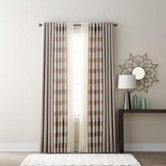 JCPenney Home Quinn, Batiste Sheer & Studio Tempest Grommet-Top Curtain Panels