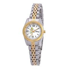 Disney Status Womens Tinker Bell Two-Tone Metal Bracelet Watch
