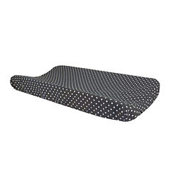 Trend Lab® Bedtime Gray Dot Changing Pad Cover