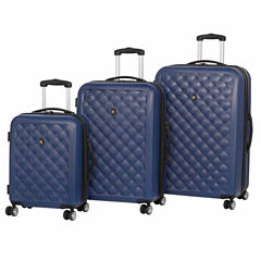 IT Luggage Cushion Lux 8 Wheel 3-Pc Hardside Luggage Set