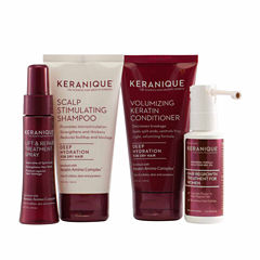 Keranique Deluxe Regrowth Treatment & Deep Hydration Kit
