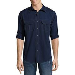 Decree Long Sleeve Button-Front Shirt