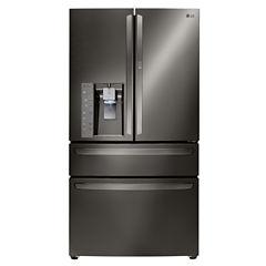 LG ENERGY STAR® 29.7 cu. ft. Super Capacity 4-Door French Door Refrigerator with CustomChill® Drawer