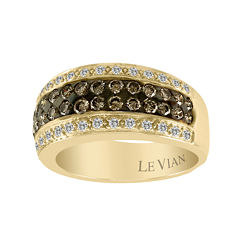 LIMITED QUANTITIES Grand Sample Sale™ by Le Vian®  1 CT. T.W. Chocolate Diamonds® & Vanilla Diamonds® 14K Honey Gold™ Le Vian Chocolatier® Ring