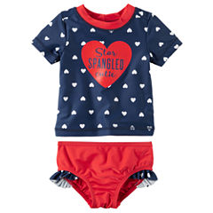 Carter's Girls Star Tankini Set - Baby