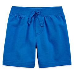 Okie Dokie® French Terry Shorts – Baby Boys newborn-24m