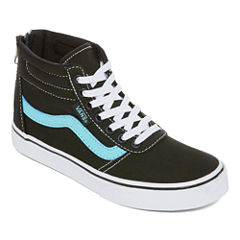 Vans Maddie Hi Zip Girls Skate Shoes - Big Kids