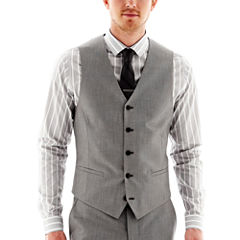 JF J. Ferrar® End on End Suit Vest - Slim Fit
