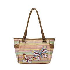 Rosetti Savannah Garden Double Handle Tote Bag