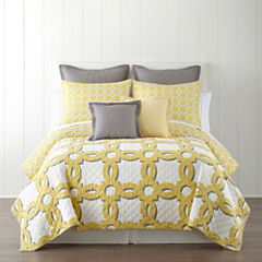 Home Expressions Emma Geo Quilt & Accessories