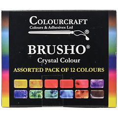 Colorfin Brusho Crystal Colors Set
