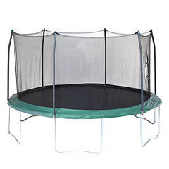 Skywalker Trampolines 15' Round Trampoline with Enclosure Net