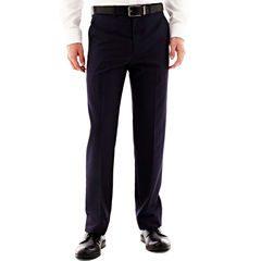 JF J. Ferrar® End on End Flat Front Suit Pants - Classic Fit