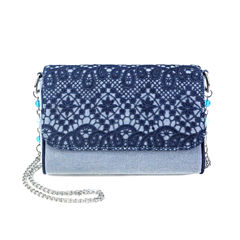 Olivia Miller Kendra Crochet Crossbody Bag