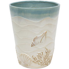 Bacova Coastal Moonlight Wastebasket