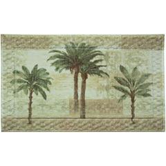 Bacova Citrus Palm Bath Rug