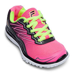 Fila® Countdown 3 Girls Running Shoes - Little Kids/Big Kids