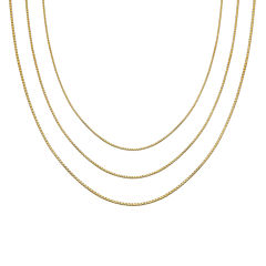 Gold Over Sterling Silver 16-30
