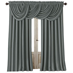 All Seasons Blackout Rod-Pocket/Back-Tab Curtain Panel