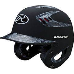 Rawlings 80mph Two-Tone Digi Navy Baseball Helmet