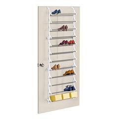 LYNK® 36-Pair Over-the-Door Shoe Rack