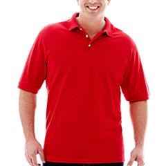 IZOD® Solid Piqué Polo Shirt–Big & Tall