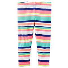 Carter's Stripe Jersey Leggings - Baby Girls