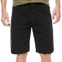 Arizona Flat-Front Shorts - 10 1/4