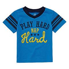 Okie Dokie Short Sleeve T-Shirt-Baby Boys