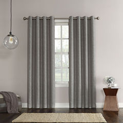 Sun Zero Gilby Room-Darkening Grommet-Top Curtain Panel