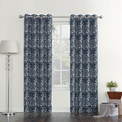 Sun Zero Stanford Room-Darkening Grommet-Top Curtain Panel