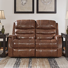 Signature Design By Ashley® Metcalf Power Recline Loveseat