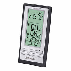 Meade Instruments TE388W Personal Weather Station with Weather Forecaster and Atomic Clock
